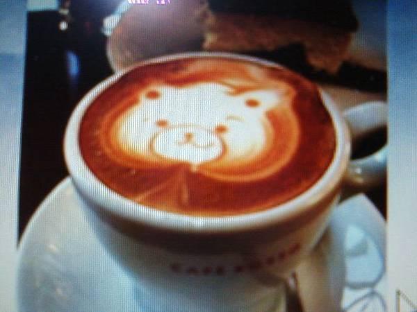 可愛咖啡熊
