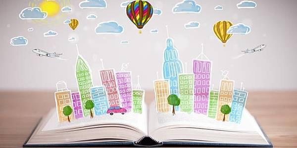 書本熱氣球
