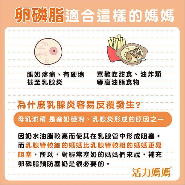 卵磷脂適合這樣的媽媽哺乳推薦圖片來源活力媽媽