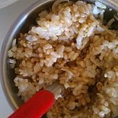 小魚乾糙米飯