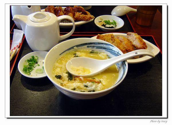 日式豬扒茶泡飯