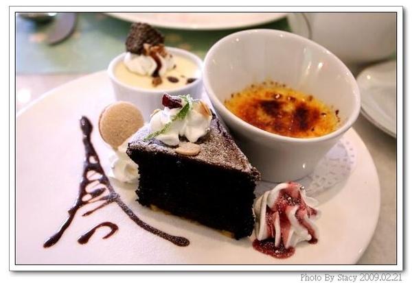 下午茶沙龍-法式甜點