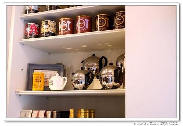 店內一角--7各式的英國茶品