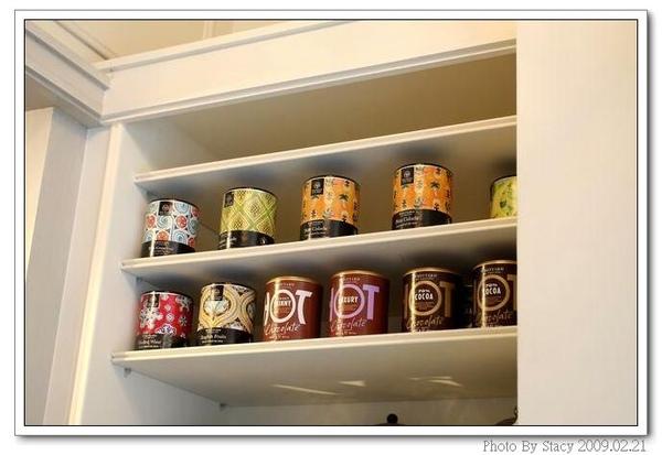 店內一角--8各式的英國茶品