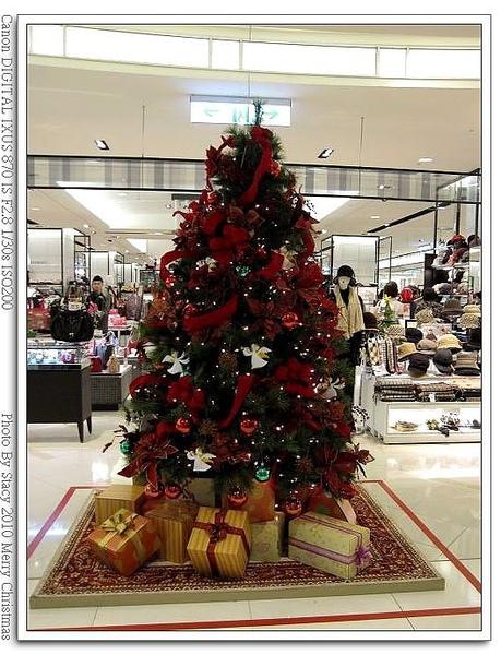 新光A8樓層耶誕樹