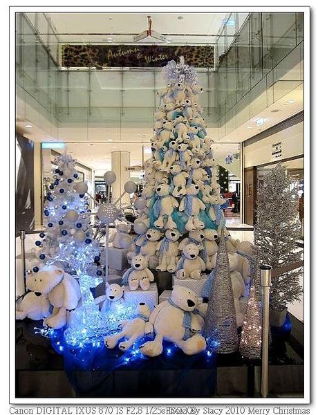 夢時代 熊熊耶誕樹2