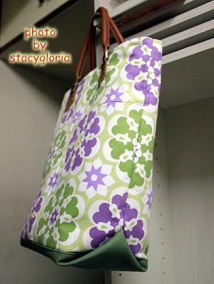 五月份~紫紫綠綠手提包1
