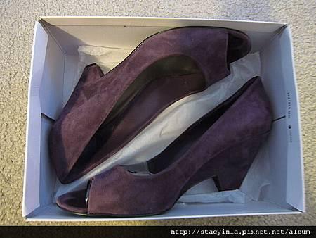 鞋子 5 Nine West 紫羅蘭魚口鞋 $800 (3)