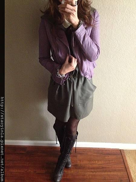 紫色皮衣 III