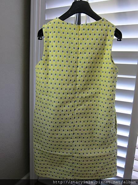 D1 孔雀毛滿版洋裝 F, 售價 $1000