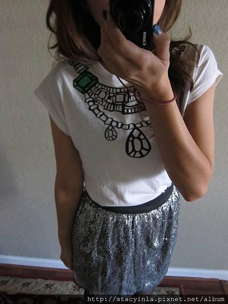 S2 寶石項鍊上衣, 售價 $400