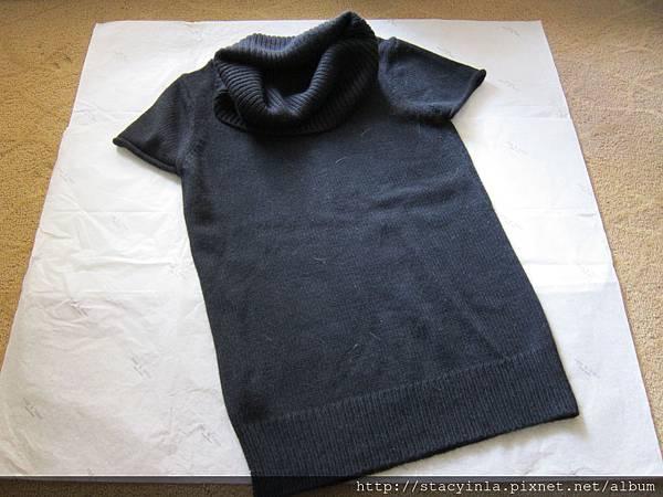 W1 BCBG 高領針織上衣 S號