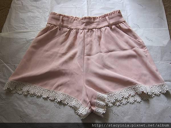 M13 雪紡蕾絲短褲