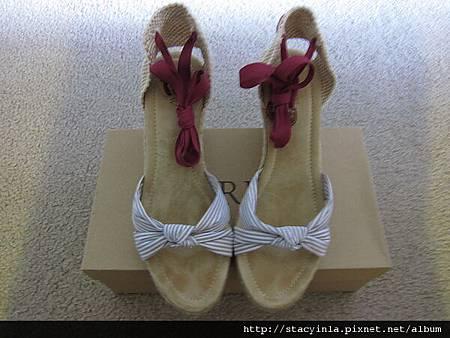 鞋子 4 JCrew 海洋風 綁帶楔型鞋 $800 (1)