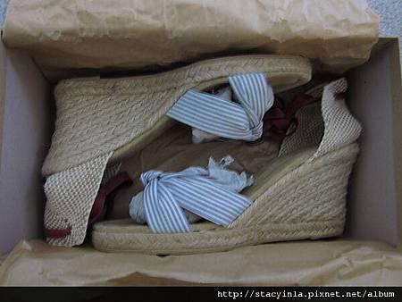 鞋子 4 JCrew 海洋風 綁帶楔型鞋 $800 (3)