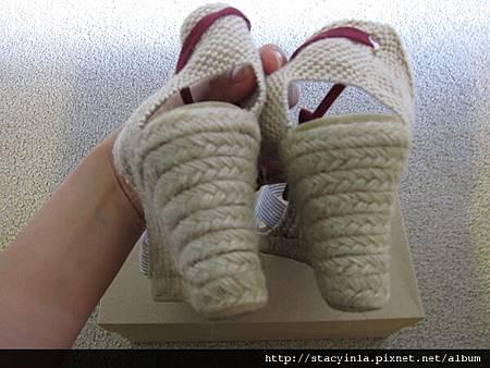 鞋子 4 JCrew 海洋風 綁帶楔型鞋 $800 (2)