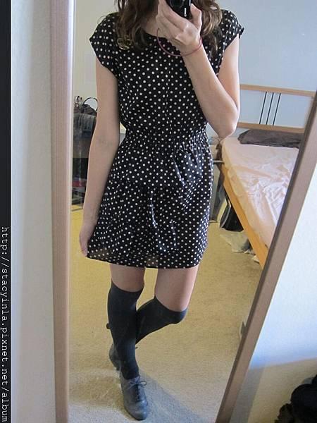 洋裝 27 Rima日系小店 水玉荷葉邊 雪紡洋裝 $800