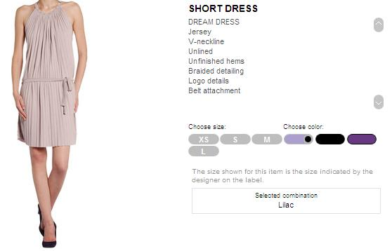 Miss Sixty Short Dress 1.JPG