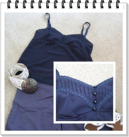 上衣 4 海軍藍 雪紡紗蕾絲細肩帶.jpg