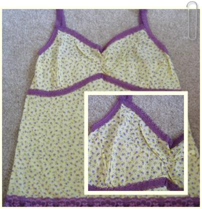 上衣 15 鵝黃色碎花淡紫蕾絲小可愛.jpg