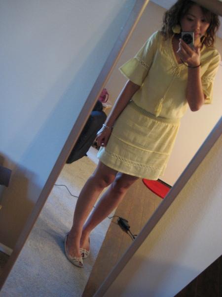 鵝黃色波西米亞洋裝 3.JPG