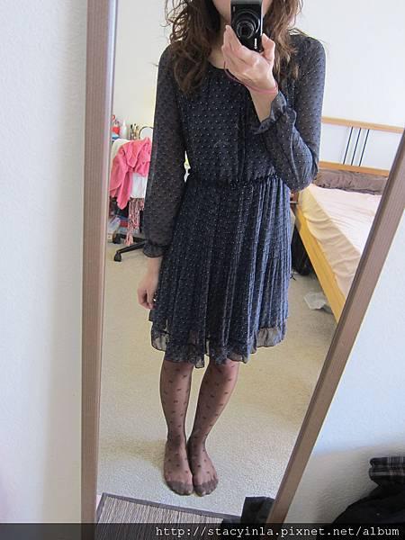 洋裝 34 小猴圖騰雪紡洋裝, $800 - 2