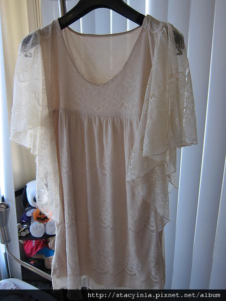 洋裝 9 水袖全蕾絲洋裝 $500 (1).JPG