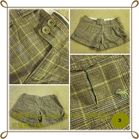 Bottom3 美牌 Abercrombie & Fitch 學院風格紋短褲 - 8號.jpg