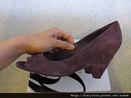 鞋子 5 Nine West 紫羅蘭魚口鞋 $800 (2)