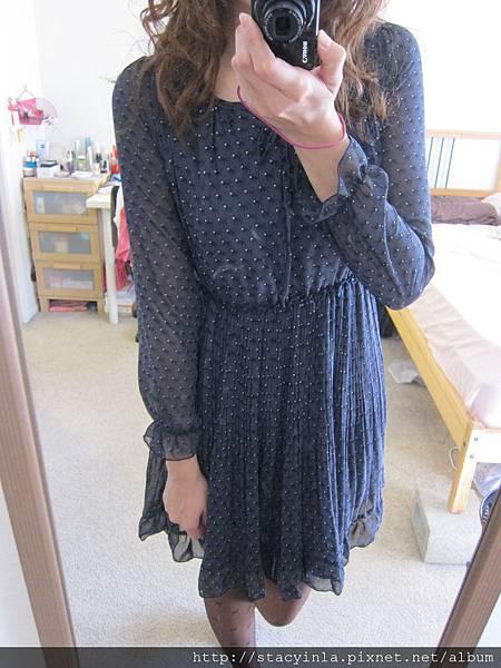 洋裝 34 小猴圖騰雪紡洋裝, $800 - 1