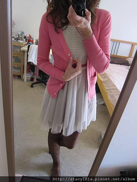 洋裝 32 短袖接紗洋裝, $700 - 3