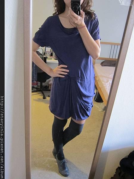 洋裝 26 Bear Two 目錄款紫羅蘭 結構洋裝 $1000 (1)