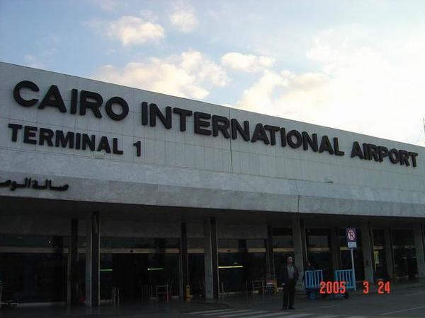 這個就是開羅國際機場啦!