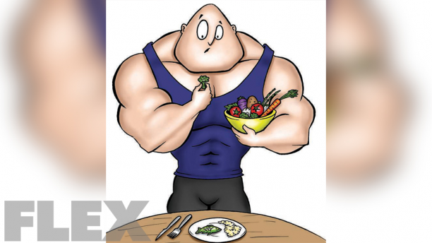 bodybuilder-eating-veggies