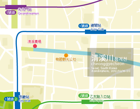 seoulmap-清溪川