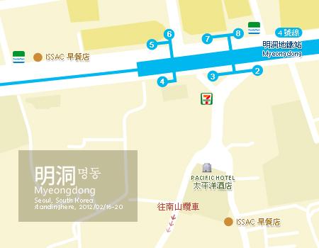 map-明洞南山