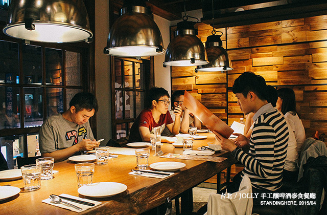 Jolly手工釀啤酒泰食餐廳-02