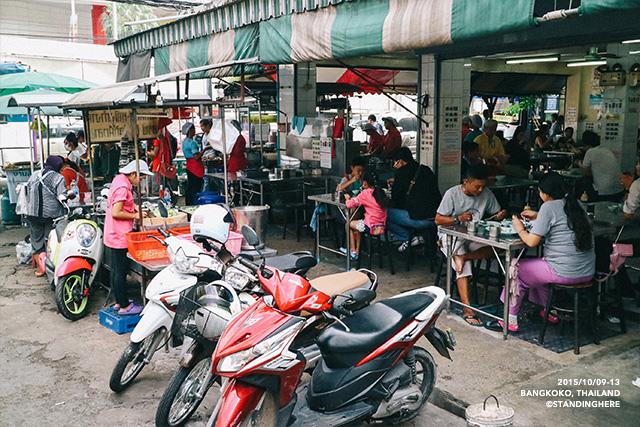 泰國曼谷-水門市場海南雞飯-063