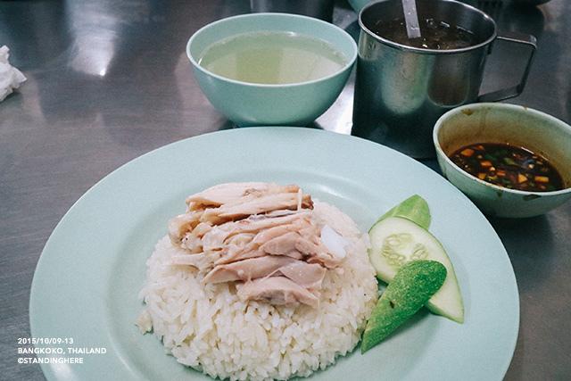 泰國曼谷-水門市場海南雞飯-068