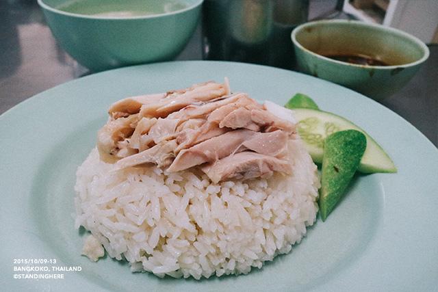 泰國曼谷-水門市場海南雞飯-070