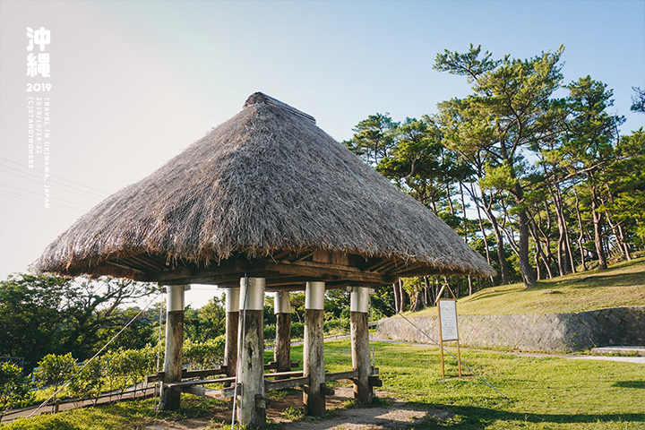 沖繩-座喜味城跡-4
