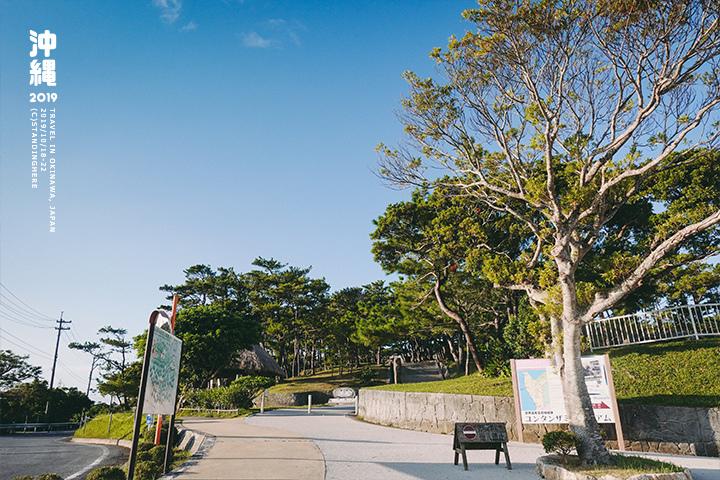 沖繩-座喜味城跡-3