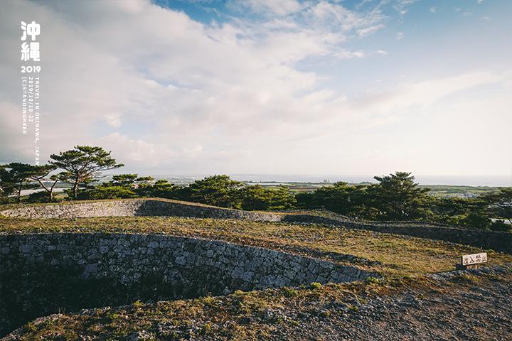 沖繩-座喜味城跡-15