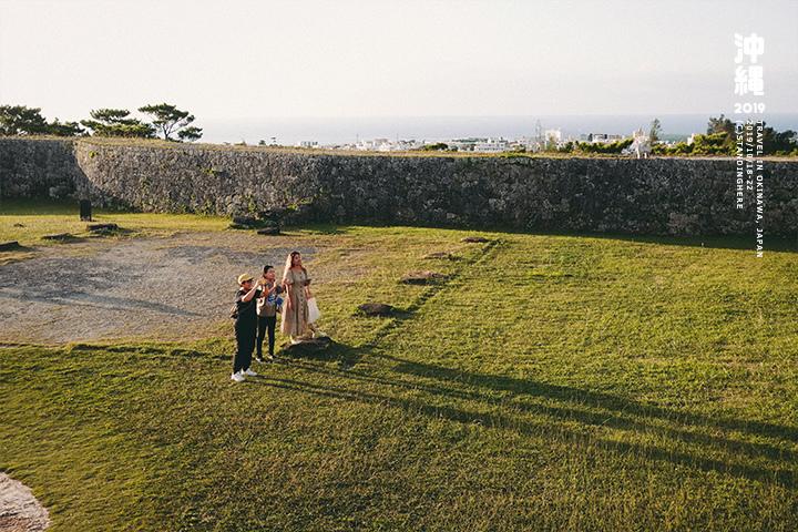 沖繩-座喜味城跡-17