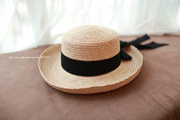 J02夏日海風度假蝴蝶結草帽,NT$690