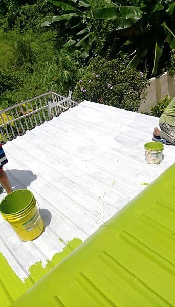 屋頂鐵皮粉刷工程