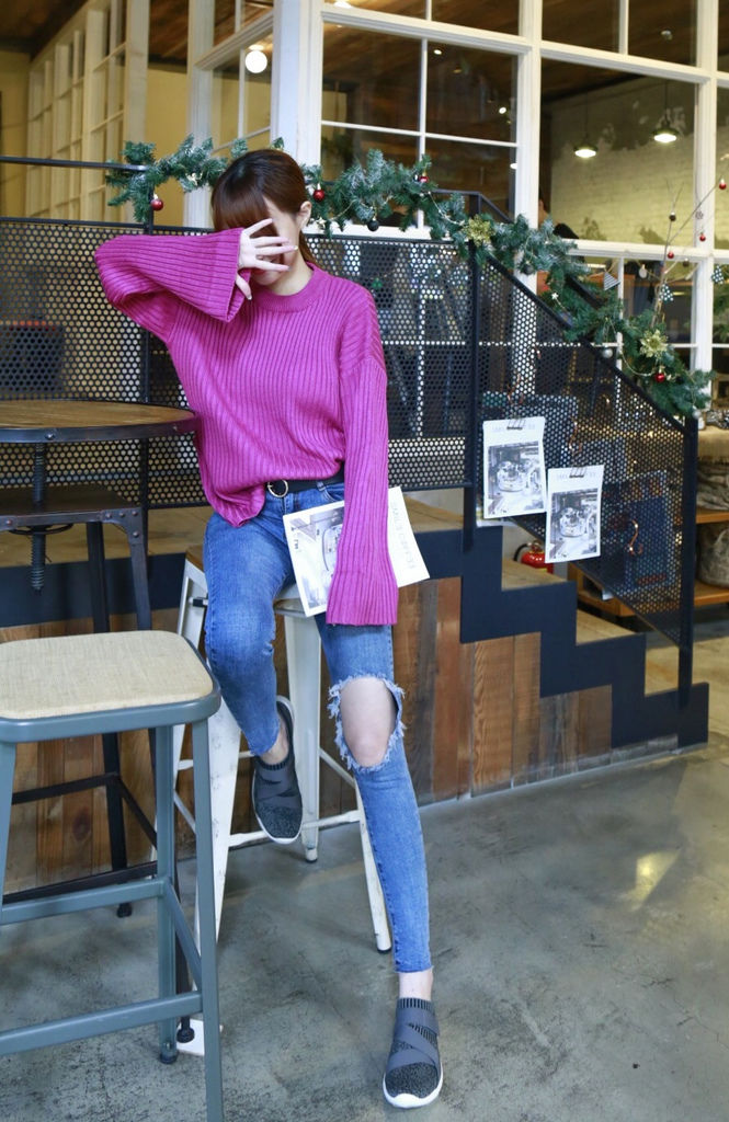 編織彈性帶時尚運動鞋5.JPG