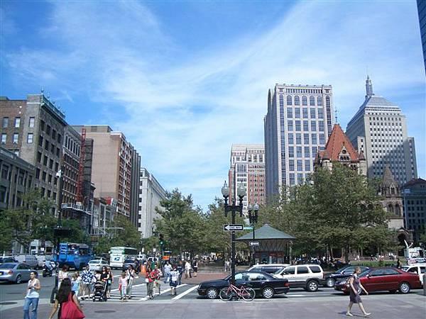 波士頓街景-copely廣場