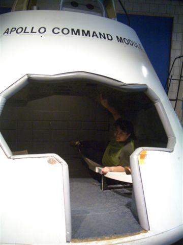 科學博物館-太空艙