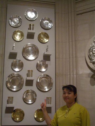 波士頓美術館-銀盤廚具